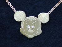 Micky Mouse Kopf Kette