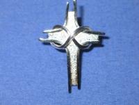 Brosche Pallottiner Kreuz